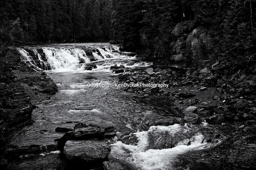 Glacier NP 2013<br /> edited 02/01/14<br /> converted to B&W  02/01/14