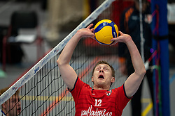Daan van Haarlem of Taurus in action during the league match Taurus - Amysoft Lycurgus on January 16, 2021 in Houten.