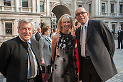 TERRY O'NEILL; SUSAN SANGSTER; BRUCE OLDFIELD, Celebration of the Arts. Royal Academy. Piccadilly. London. 23 May 2012.