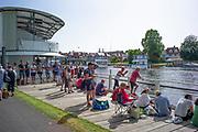 Henley on Thames, England, United Kingdom, 28th June 2019, Henley Royal Regatta Qualifiers, time trial, on Henley Reach, [© Peter SPURRIER/Intersport Image]<br /> <br /> 15:31:47