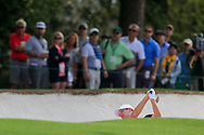 Kevin O'Connell (USA)(AM) on the 1st during the 1st round at the The Masters , Augusta National, Augusta, Georgia, USA. 11/04/2019.<br /> Picture Fran Caffrey / Golffile.ie<br /> <br /> All photo usage must carry mandatory copyright credit (© Golffile | Fran Caffrey)