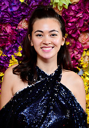 Jessica Henwick attending the Crazy Rich Asians Premiere held at Ham Yard Hotel, London.