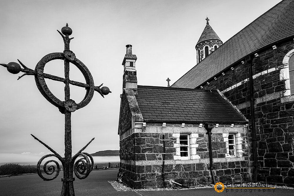 Sacred Heart Catholic Church in Dunlewey, Ireland
