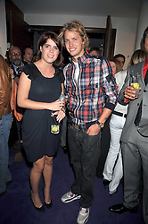 SAM BRANSON and PRINCESS EUGENIE OF YORK at The Ralph Lauren Sony Ericsson WTA Tour Pre-Wimbledon Party hosted by Richard Branson at The Roof Gardens, London on June 18, 2009