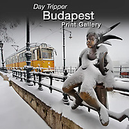 DAY TRIPPER - SNOWY DAY BUDAPEST - Art Photography Series by Photographer Paul E Williams