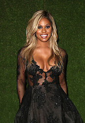 7 January 2018 -  Beverly Hills, California - Laverne Cox. 75th Annual Golden Globe Awards_Roaming held at The Beverly Hilton Hotel. Photo Credit: Faye Sadou/AdMedia