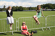 Jemima O'Keefe, Marilyn Cathcart and Michelle Cathcart. Cartier International Polo. Guards Polo Club. Windsor Great Park. 29 July 2007.  -DO NOT ARCHIVE-© Copyright Photograph by Dafydd Jones. 248 Clapham Rd. London SW9 0PZ. Tel 0207 820 0771. www.dafjones.com.