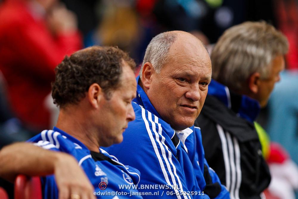NLD/Amsterdam/20100731 - Wedstrijd om de JC schaal 2010 tussen Ajax - FC Twente, Danny Blind en Martin Jol