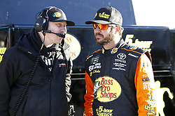 March 2, 2018 - Las Vegas, Nevada, United States of America - March 02, 2018 - Las Vegas, Nevada, USA: Martin Truex Jr (78) hangs out on pit road during qualifying for the Pennzoil 400 at Las Vegas Motor Speedway in Las Vegas, Nevada. (Credit Image: © Justin R. Noe Asp Inc/ASP via ZUMA Wire)