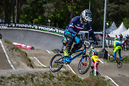 #100 (MAHIEU Romain) FRA during round 3 of the 2017 UCI BMX  Supercross World Cup in Zolder, Belgium,