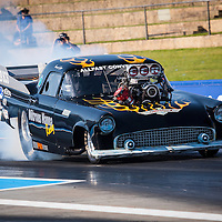 Tracey De Jager (2129) - Supercharged Outlaw Ford Thunderbird.