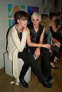 CARSEN MCCALL AND GARETH PUGH, 240th Royal Academy Summer Exhibition fundraising private view. Piccadilly. London.4 June 2008.  *** Local Caption *** -DO NOT ARCHIVE-© Copyright Photograph by Dafydd Jones. 248 Clapham Rd. London SW9 0PZ. Tel 0207 820 0771. www.dafjones.com.