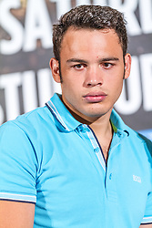 LOS ANGELES, California/USA (Friday, Aug 23 2013) - Pro boxer Julio Cesar Chavez Jr (46-1-1, 32 KOs) poses for the media during the press conference at the Millenium Biltmore Hotel to announce the Chavez jr vs Vera fight next September 28 at the StubHub Center in Carson, CA. Los Angeles,CA USA. 29th August 2013. Fees must be agreed for image use. Byline, credit, TV usage, web usage or linkback must read: © SILVEXPHOTO.COM.
