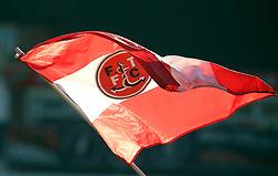 Fleetwood Town flag flown prior to kick-off