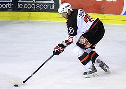Damjan Dervaric at 39th Round of EBEL League ice hockey match between HDD Tilia Olimpija and HK Acroni Jesenice, on December 30, 2008, in Arena Tivoli, Ljubljana, Slovenia. Tilia Olimpija won 4:3. (Photo by Vid Ponikvar / SportIda).