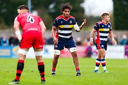 Chris Vui of Bristol Rugby - Rogan/JMP - 28/10/2017 - RUGBY UNION - Stade Santander International - St Peter, Jersey - Jersey Reds v Bristol Rugby - Greene King IPA Championship.