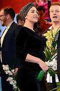 Koninkrijksconcert 2013 in het Circustheater in Scheveningen / Kingdom Concert 2013 at the Circus Theatre in Scheveningen<br /> <br /> Op de foto / On the photo:  Caro Emerald (zwanger)
