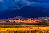 Great Sand Dunes National Park and Preserve, near Alamosa, Southern Colorado USA.