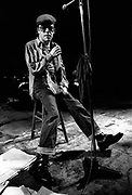 Ian Dury in concert London 1979