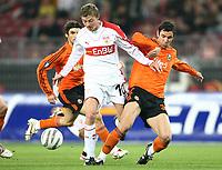 v.l. Jon Dahl Tomasson, Darijo Srna<br /> UEFA-Cup VfB Stuttgart - FC Schachtjor Donezk<br />  Norway only