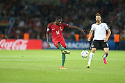 William Carvalho of Portugal, during the match against Austria, valid for the European Championship Group F 2016 in the Parc des Princes stadium in Paris on Saturday 18. The game ended 0 to 0.