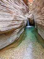 Grand Canyon, National Canyon, waterfall, side canyon from Colorado River, River mile 166 Arizona