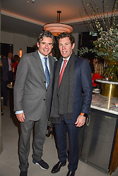 21 November 2019 - Edward Taylor and Jack Brooksbank at the launch of Sam's Riverside Restaurant, 1 Crisp Walk, Hammersmith hosted by owner Sam Harrison, Edward Taylor and Jack Brooksbank.<br /> <br /> Photo by Dominic O'Neill/Desmond O'Neill Features Ltd.  +44(0)1306 731608  www.donfeatures.com