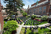 © Photo by Mara Lavitt<br /> May 24, 2021<br /> Yale University, New Haven, CT<br /> <br /> Yale Law School Commencement 2021 held in the school's courtyard.