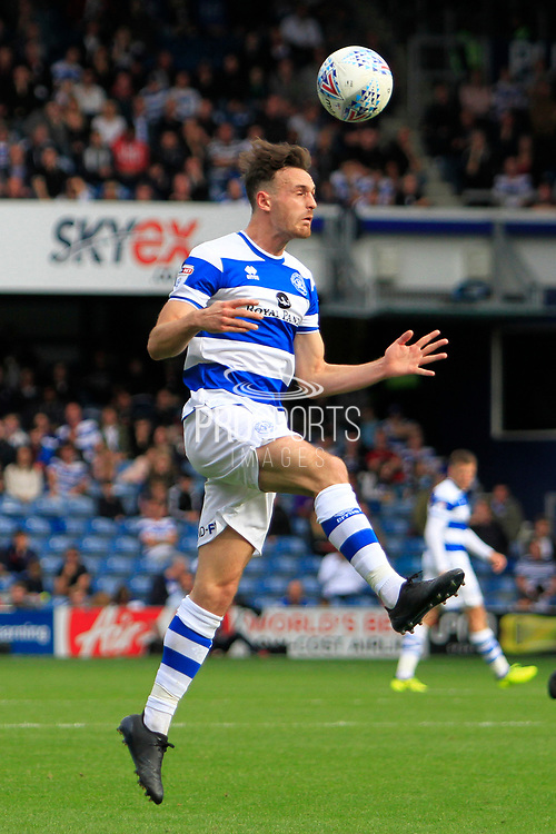 Queens Park Rangers defender Jack Robinson (18) during the EFL Sky Bet Championship match between Queens Park Rangers and Burton Albion at the Loftus Road Stadium, London, England on 23 September 2017. Photo by Richard Holmes.
