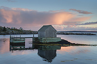 Fishermen's shack, Blue Rocks Nova Scotia