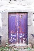 an old door quinta do infantado douro portugal