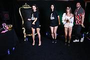 """Dr. Sindsen: Modenschau - Livestream, """"Wir setzen ein Zeichen - Gegen Mobbing, Berlin, 18.07.2020<br /> Anastasiya Avilova, Micaela Schäfer, Toni Trips und DJ Grandmaster Sunshine<br /> © Torsten Helmke"""