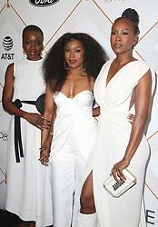 01 March 2018 - Beverly Hills, California - Danai Gurira, Angela Bassett, Sydelle Noel. 2018 Essence Black Women In Hollywood Oscars Luncheon held at the Regent Beverly Wilshire Hotel. Photo Credit: F. Sadou/AdMedia