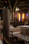 The altar of the Basilica of the Annunciation, Nazareth, israel