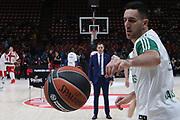 Micic Vasilije, AX ARMANI EXCHANGE OLIMPIA MILANO vs ZALGIRIS KAUNAS, EuroLeague 2017/2018, Mediolanum Forum, Milano 9 novembre 2017 - FOTO Bertani/Ciamillo-Castoria