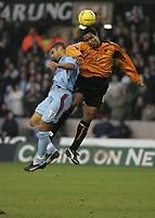 Fotball<br /> England 2004/22005<br /> Foto: SBI/Digitalsport<br /> NORWAY ONLY<br /> <br /> Wolverhampton Wanderers v West Ham<br /> Molineux Stadium, Wolverhampton<br /> Coca Cola Championship. 15/01/2005.  <br /> <br /> Hayden Mullins and Paul Ince