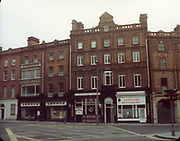 Old Dublin Amature Photos December 1983 WITH, Westland Row, Lincoln Place, Merrion Hall, Prices medicine hall, Fenian St, Lennox, Bernardo Restaurant,