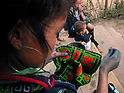 Vietnam, Sapa :sewing  minorities