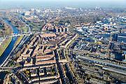 Nederland, Noord-Holland, Amsterdam, 11-12-2013;  Overzicht Amsterdam-Noord, Meeuwenlaan en omgeving, Vogelbuurt. <br /> Overview North Amsterdam.<br /> luchtfoto (toeslag op standaard tarieven);<br /> aerial photo (additional fee required);<br /> copyright foto/photo Siebe Swart.