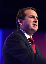© Licensed to London News Pictures. 02/10/2012. Manchester, UK Shadow Secretary for Wales Owen Smith. The Labour Party Conference Day 3 at Manchester Central. Photo credit : Stephen Simpson/LNP