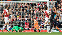 Football - 2018 / 2019 Premier League - Arsenal vs. Everton<br /> <br /> Richarlison (Everton FC ) reacts after seeing Petr Cech (Arsenal FC) push his shot wide at The Emirates.<br /> <br /> COLORSPORT/DANIEL BEARHAM