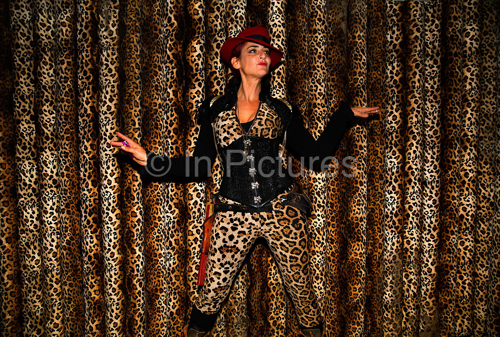 Shangri La is a festival of contemporary performing arts held each year within Glastonbury Festival. The theme for the 2015 Shangri La was Protest. Dancing at dawn in the Gorrila bar.