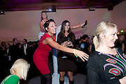EUROULA AGATHOU; MEI RIDER; CHRISTINA HAYLE ( BEHIND) , Durex - 80th birthday party. Sketch, 9 Conduit Street, London W1, 20 OCTOBER 2009