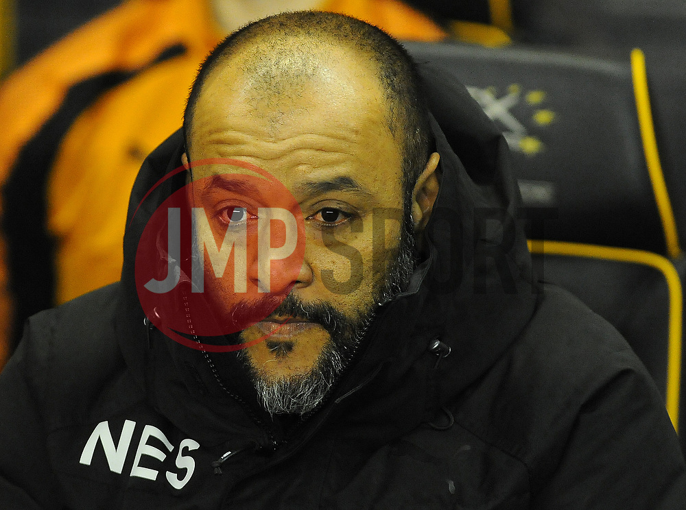 Wolverhampton Wanderers manager Nuno looks on - Mandatory by-line: Nizaam Jones/JMP - 02/01/2018 - FOOTBALL - Molineux - Wolverhampton, England- Wolverhampton Wanderers v Brentford -Sky Bet Championship