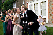 Charlotte Casiraghi AND Lord Edward Spencer-Churchill, Raisa Gorbachev Foundation Party, at the Stud House, Hampton Court Palace on June 7, 2008 in Richmond upon Thames, London,Event hosted by Geordie Greig and is in aid of the Raisa Gorbachev Foundation - an international fund fighting child cancer.  7 June 2008.  *** Local Caption *** -DO NOT ARCHIVE-© Copyright Photograph by Dafydd Jones. 248 Clapham Rd. London SW9 0PZ. Tel 0207 820 0771. www.dafjones.com.
