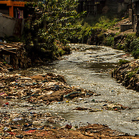 In Kenya, the Nairobi river, which passes through the country's capital city, and is used by millions daily for domestic and farming activities, has been an increasing cause for concern. <br /> <br /> This is because the capital city's waterway has become one of the most polluted rivers in the world, threatening the livelihoods and health of millions who depend on it.<br /> The situation is especially grave in informal settlements, like Mathare. Here, one of the Nairobi river basin tributaries passes through, called the Mathare river. It has become a huge dumping ground for all sorts of waste, leading to high levels of industrial contamination.