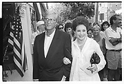 Tommy de Mayo, Cindy Adams, Truman premiere. Sag Harbour. 1995.