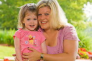 Lowell General Hospital portrait of mother and daughter