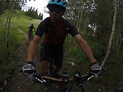 SHOT 8/5/17 12:57:51 PM - GoPro Hero 5 photos while riding Brian Head Resort in Brian Head, Utah with Vesta Lingvyte of Denver, Co. (Photo by Marc Piscotty / © 2017)