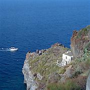 Coastline, Salina, Aeolian Islands, Italy